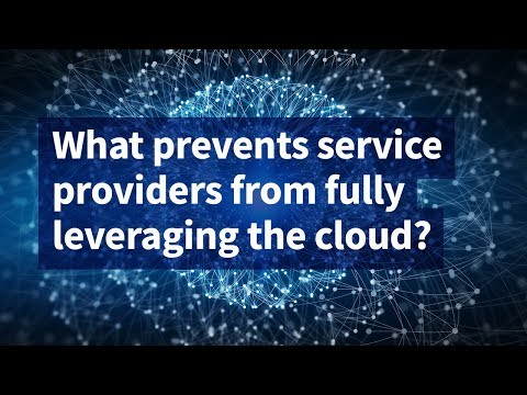 What Prevents Service Providers From Fully Leveraging the Cloud?