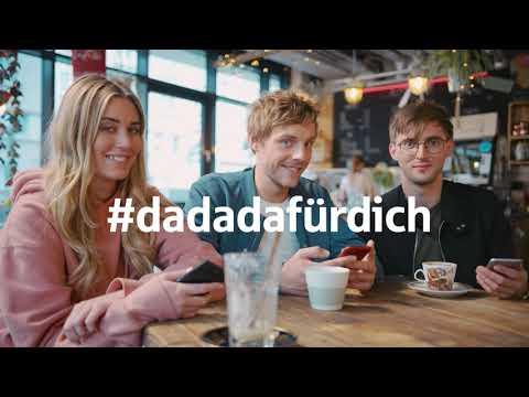 #DaDaDaFürDich auch beim überweisen von Handy zu Handy.