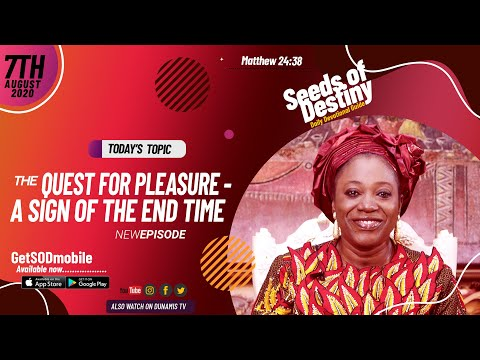 Dr Becky Paul-Enenche - SEEDS OF DESTINY - FRIDAY AUGUST 7, 2020