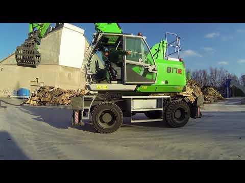 SENNEBOGEN 817 E product video - the material handler for waste management