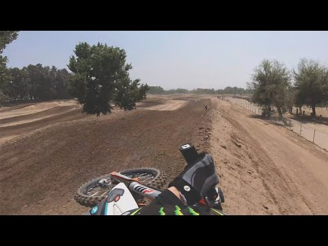 Kaed Kniffing Wringing Out a 125cc | TransWorld Motocross