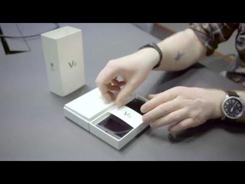 Ut av esken: LG V10 Smarttelefon