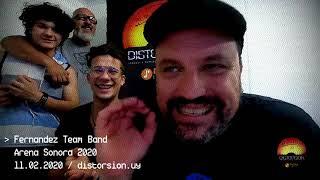 Entrevista a Fernandez Team Band en las semifinales de Arena Sonora 2020 (11.02.2020)