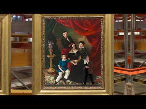 Familjen Berg  och Karl XI med familj