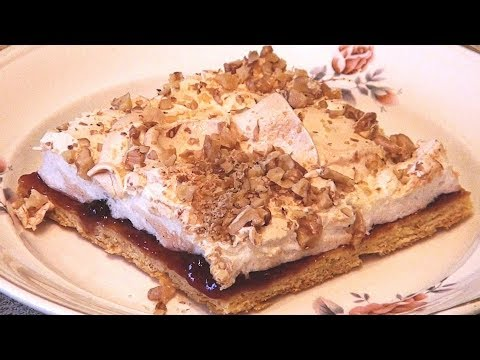 Рассыпчатое, воздушное, мягкое внутри пирожное по мотивам торта Пани Валевская photo