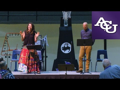 ACU Chapel with Ali Kaiser and Derran Reese; September 20