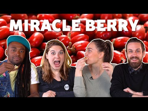 MIRACLE BERRY Flavor Trippin