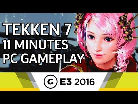 11 Minutes of Tekken 7 PC Gameplay - E3 2016 - UCbu2SsF-Or3Rsn3NxqODImw