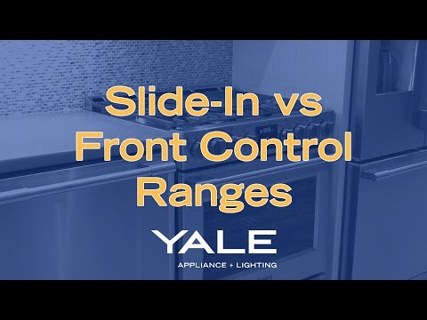 Slide-In vs. Front Control [Yale Appliance + Lighting]