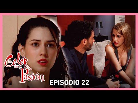 El color de la pasión: Nora descubre a Rebeca coqueteando con Marcelo | C-22 | Tlnovelas