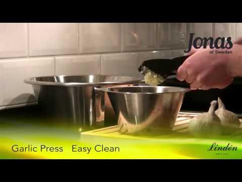 Vitlökspress Easy Clean