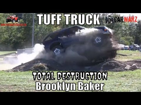 CRAZY RUN - Brooklyn Baker 2005 Chevy Blazer Second Round Stock Class Minto Tuff Truck 2018