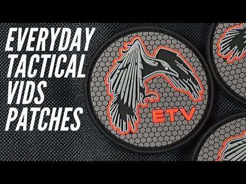 Everyday Tactical Vids Patches from Patchshipfree.com | LIMITED QUANTITIES