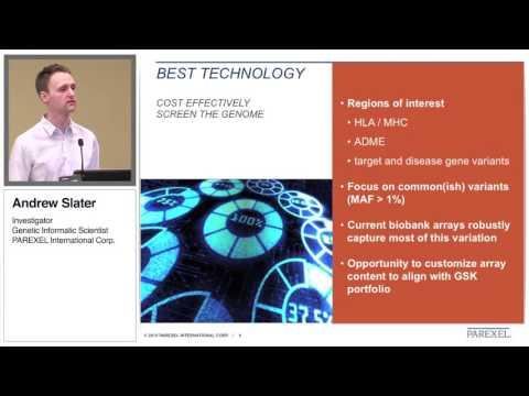 Affymetrix webinar Andrew Slater
