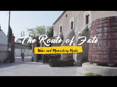 The route of fate: Wine and Monastery Route