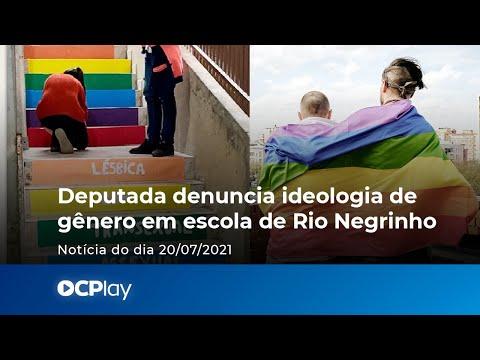 Deputada denuncia ideologia de gênero em escola de Rio Negrinho