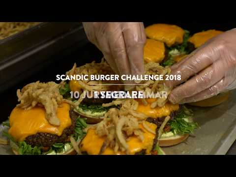 Scandic Burger Challenge 2018