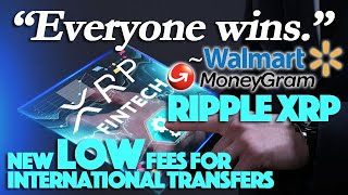 Ripple XRP: The Domino Effect Has Begun - NEW Low Fees For Int'l Money Transfers. Everyone Wins