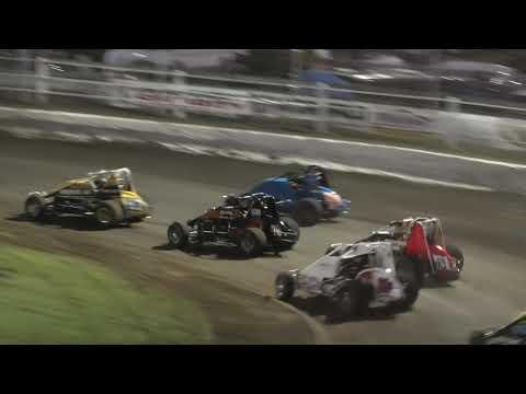Six Shooters Race 2 from Rotorua 16/11/19 - dirt track racing video image