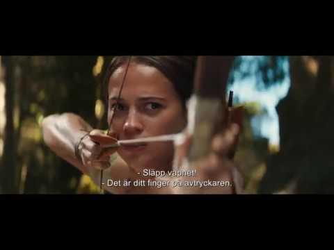 Tomb Raider - Trailer 60 sek - Biopremiär 16 mars