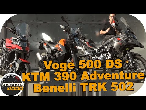 Comparativa Benelli TRK502 Vs. Voge 500 DS Vs. KTM 390 Adventure
