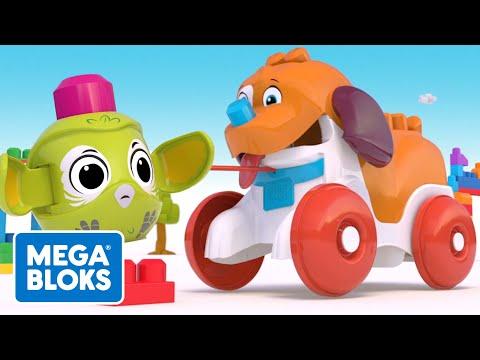 Hündchen geht spazieren | Mega Bloks | Fisher-Price Deutsch | Cartoons für Kinder