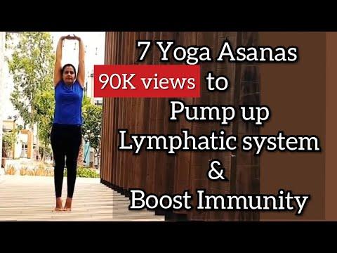 7 Yoga Asanas to pump up Lymphatic System & Boost Immunity   7 Minutes Yoga to Boost Immunity