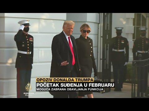 Trumpu će se suditi u februaru, moguća zabrana obavljanja funkcija