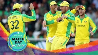 Australia move to the top of the table after a comfortable win over Bangladesh at Trent Bridge