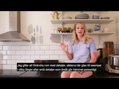 Emma Sundh väljer kulör till köket