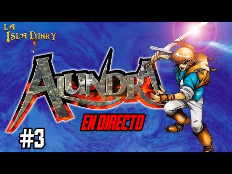 Alundra - #3 - Matrix Software & Psygnosis - 1997 - PSX - Walkthrough - Español - En Directo