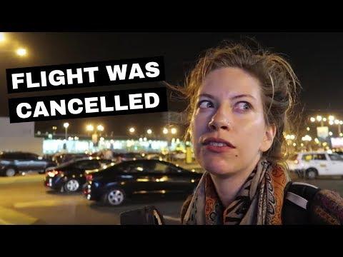 Our Flight Was Canceled! Lima, Peru to Toronto, Canada travel vlog