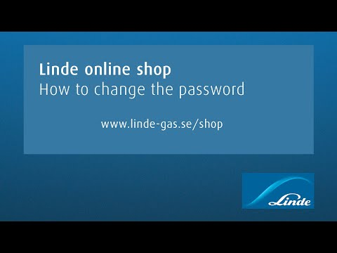 AGA online shop: How to change the password