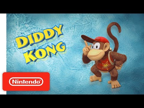 Donkey Kong Country Tropical Freeze – Meet the Kongs: Diddy Kong – Nintendo Switch