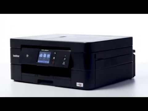 Tour de producto Brother MFC-J890DW. Impresora multifunción de tinta WiFi con fax y NFC