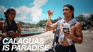TO CALAGUAS!!! THE MOST BEAUTIFUL BEACH I'VE EVER SEEN!!! | vlog 242