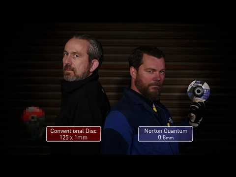 Norton Quantum 0.8mm - The Speed Cutting Challenge