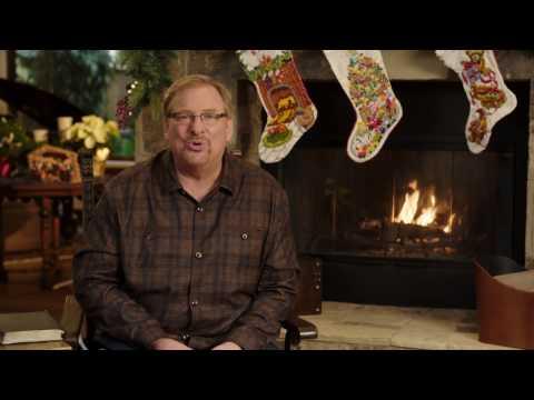 Pastor Rick Warren Invites You To Join Us For Christmas At Saddleback Church