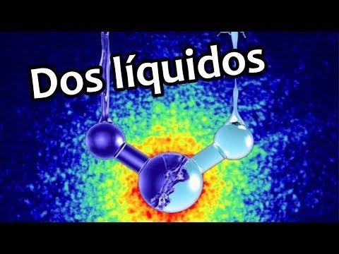 El agua existe como dos líquidos diferentes | Noticias 3/7/2017