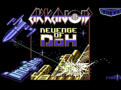 Commodore 64: Arkanoid 2   Revenge of Doh game ending by Imagine Software