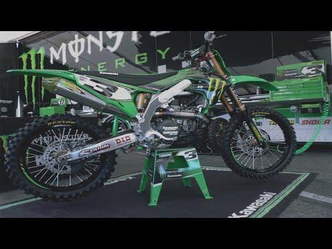 Factory Flyers | Eli Tomac's Monster Energy Kawasaki KX450