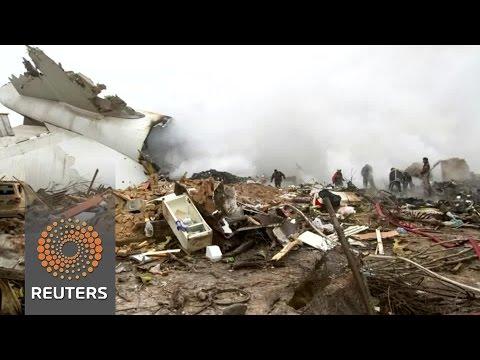 At least 37 dead in Kyrgyzstan plane crash
