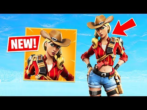 New Cowgirl Rustler & Cowboy Wrangler Skins! (Fortnite Battle Royale) - UC2wKfjlioOCLP4xQMOWNcgg