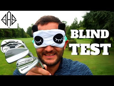 BLIND TESTING - THE MOST POPULAR GOLF IRONS OF 2019