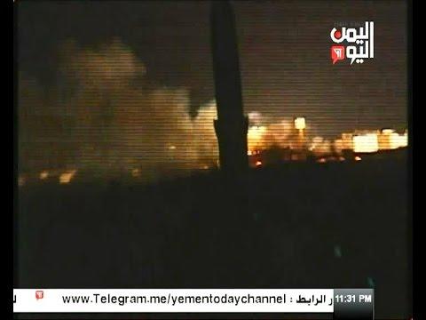 غارات للعدوان السعودي تستهدف حي صوفان في العاصمة 11 - 01 - 2017