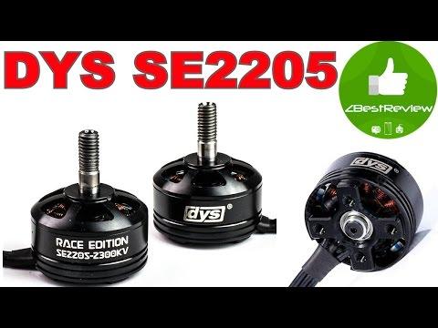 ✔ Обзор Моторов DYS SE2205 2300KV, 3-5S - Racing Edition. - UClNIy0huKTliO9scb3s6YhQ