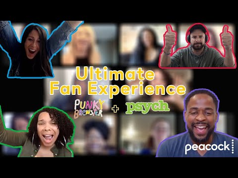 Peacock Introduces Superfans to Their Favorite Psych + Punky Brewster Stars // Presented by BuzzFeed
