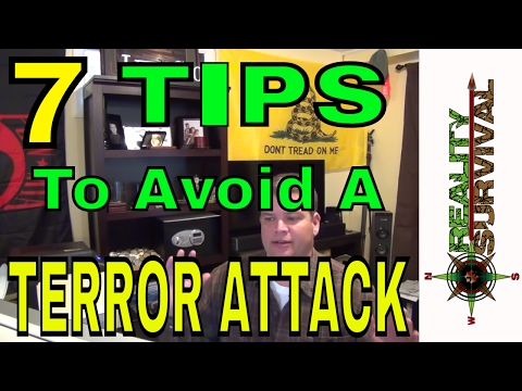 7 Tips To Avoid An Urban Terrorist Attack - At Concerts, Sporting Events, Etc