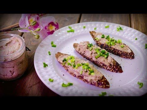 Хрустящий багет с грибным паштетом | Простой рецепт