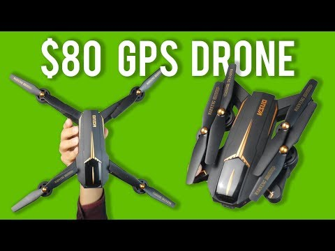 VISUO xs812 review - foldable GPS drone under $100 - UC5RL5EPFlPi92TsunwORtcA